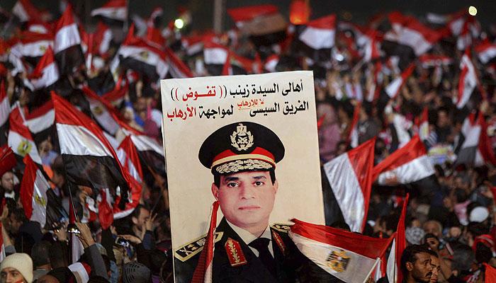 Министр обороны Египта выдвинут на пост президента