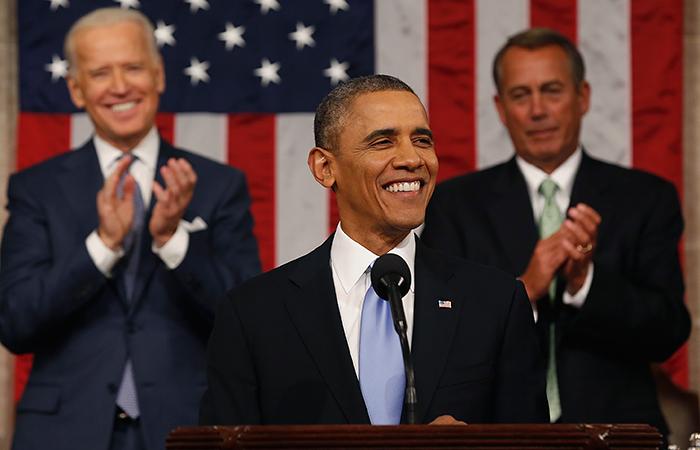 """Обама пообещал """"год действий"""" в области экономики"""