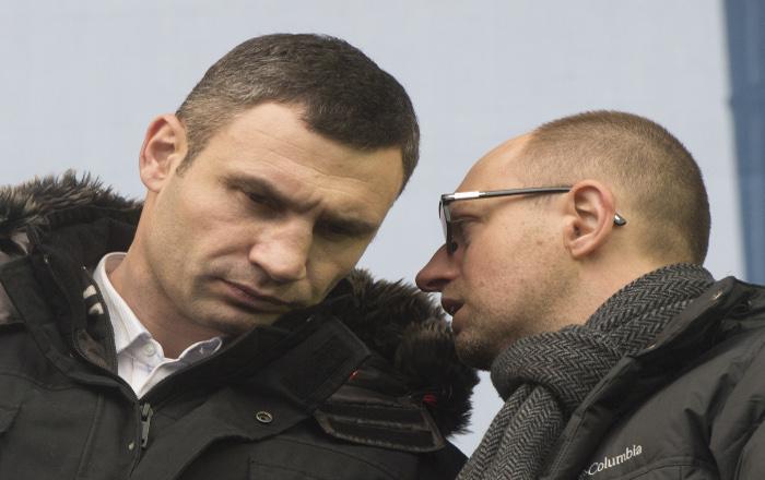 Кличко потребовал от Януковича вернуться за стол переговоров
