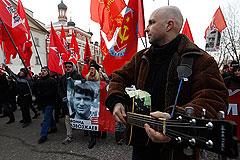 В шествии оппозиции в Москве приняли участие несколько тысяч человек