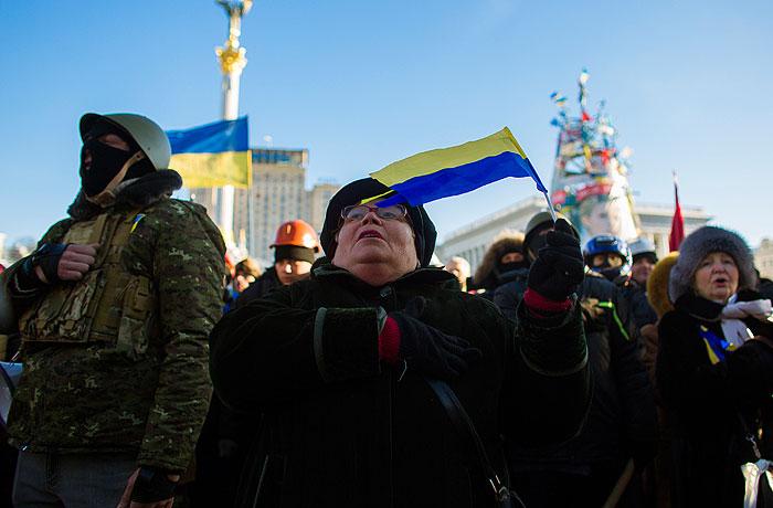 """Украинская оппозиция потребует полной """"перезагрузки"""" власти"""