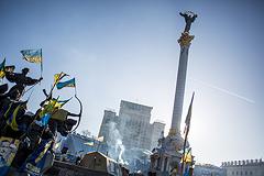 В районе майдана Незалежности произошли два взрыва