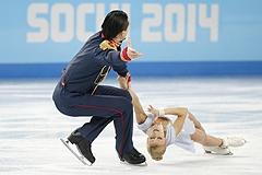 Российские фигуристы лидируют в командном турнире Олимпиады