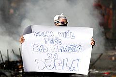 В Боснии и Герцеговине в антиправительственных акциях пострадали не менее 200 человек
