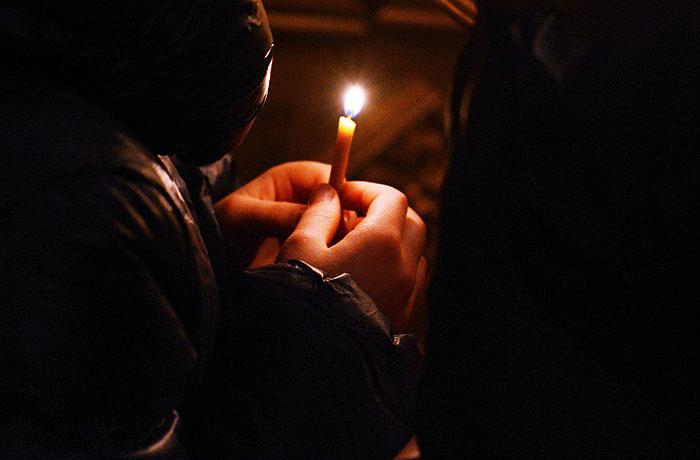 Частный охранник устроил стрельбу в храме Сахалина