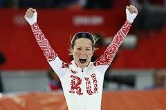 Конькобежка Ольга Граф принесла России первую медаль Олимпиады