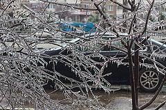 В Москве и области во вторник ожидается ледяной дождь