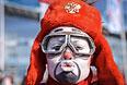 Российские болельщики в Олимпийском парке Сочи во время XXII зимней Олимпиады.