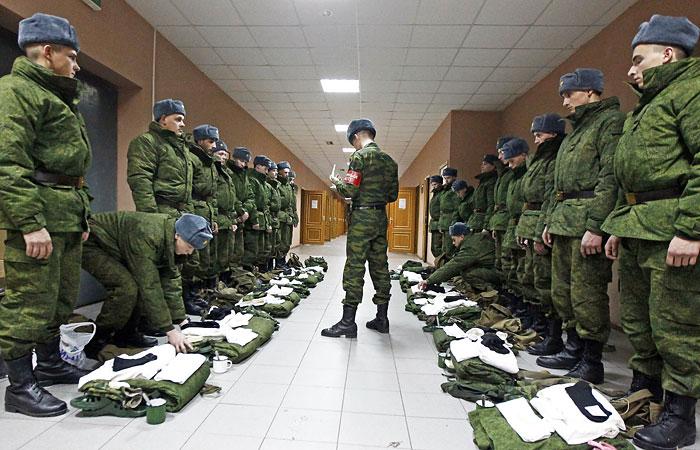 Уже к 2020 году российская армия будет на 2/3 состоять из контрактников