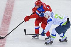 Хоккейная сборная России с победы стартовала на Олимпиаде