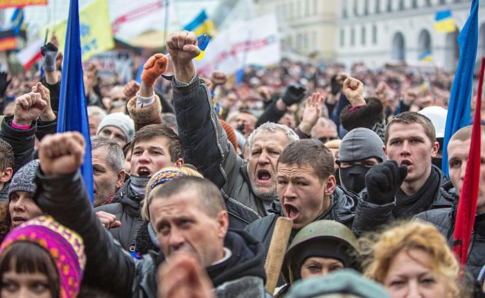 На Украине освобождены все задержанные оппозиционеры