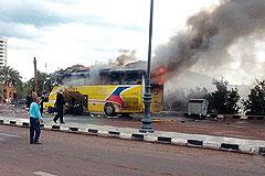 Автобус в Египте взорвал смертник
