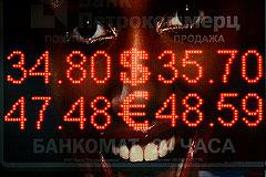 Рубль усилил снижение после новостей о покупке валюты в Резервный фонд
