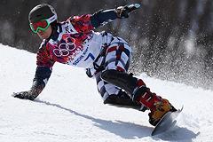 Российские сноубордисты завоевали золото и бронзу Олимпиады