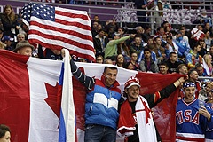 Сборная США - сборная Канады. Онлайн-трансляция