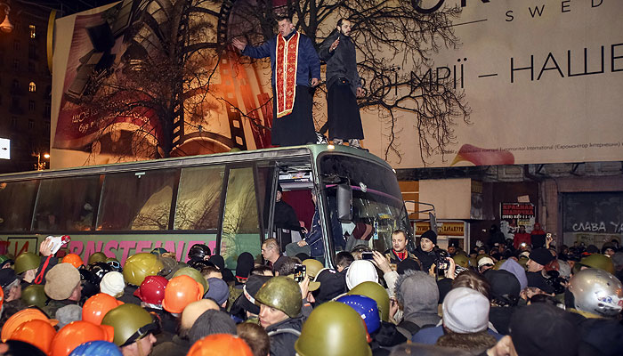 Беспорядки в Киеве: онлайн-трансляция