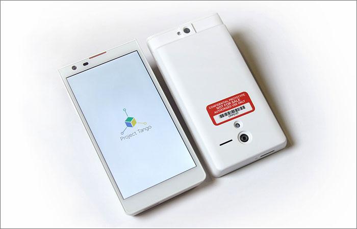 Google анонсировал смартфон со встроенным 3D-сканером