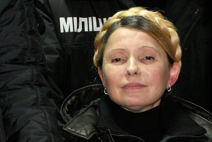 Юлия Тимошенко выступила на майдане Незалежности