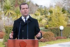 Медведев усомнился в легитимности властей Украины