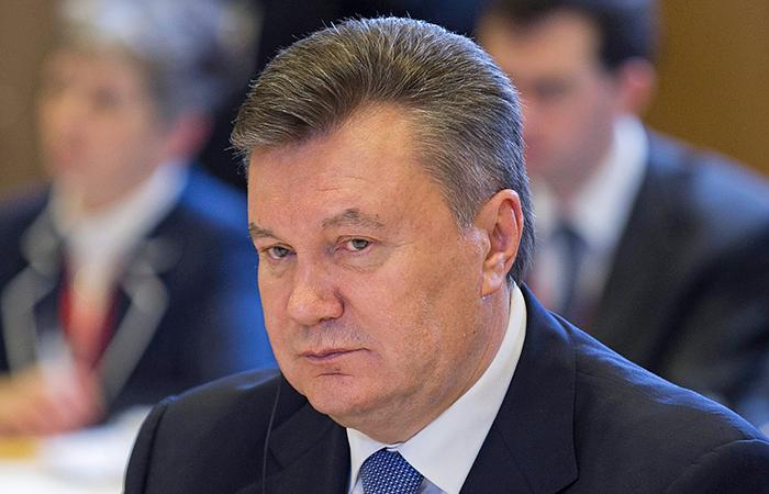 Янукович попросил Россию о защите