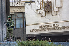 Украинские военные в Крыму переходят на сторону местных властей