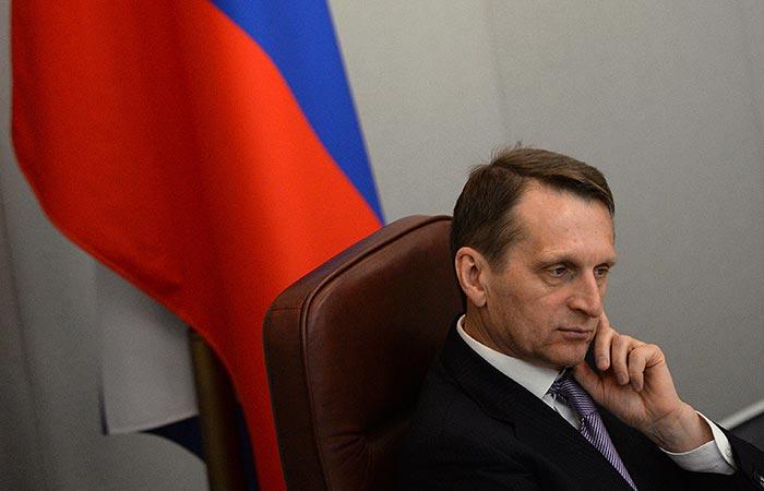 Сергей Нарышкин считает, что пока нет необходимости вводить российские войска на территорию Украины.