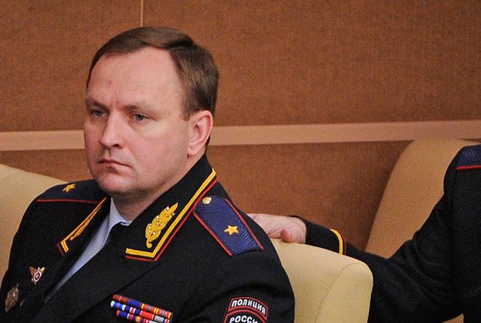 Генерал Сугробов уволен из МВД