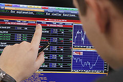 Российские рынки начали восстанавливаться после падения