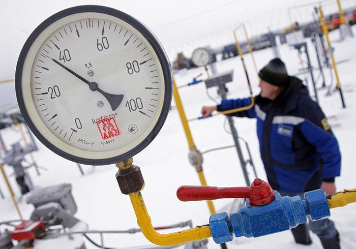 """""""Газпром"""" пересмотрит цену на газ для Украины с начала апреля"""