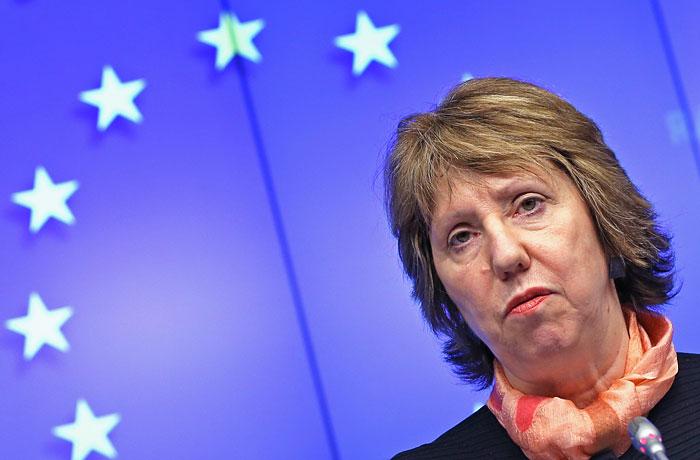 Верховный представитель ЕС по внешней политике и безопасности Кэтрин Эштон.