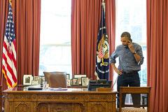 Обама предложил Путину трехсторонние переговоры по Крыму