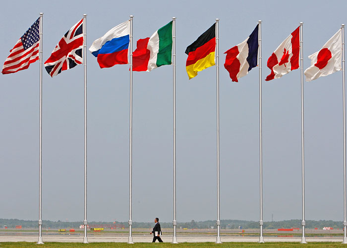 Страны G7 призвали Россию прекратить поддержку референдума в Крыму