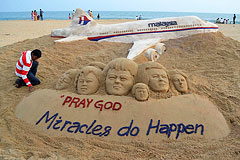 Исчезновение лайнера Malaysia Airlines