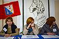 Голосование на референдуме о статусе Крыма на одном из избирательных участков Севастополя.
