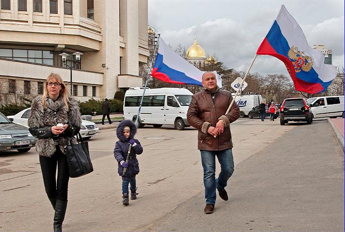Крым проголосовал за присоединение к России