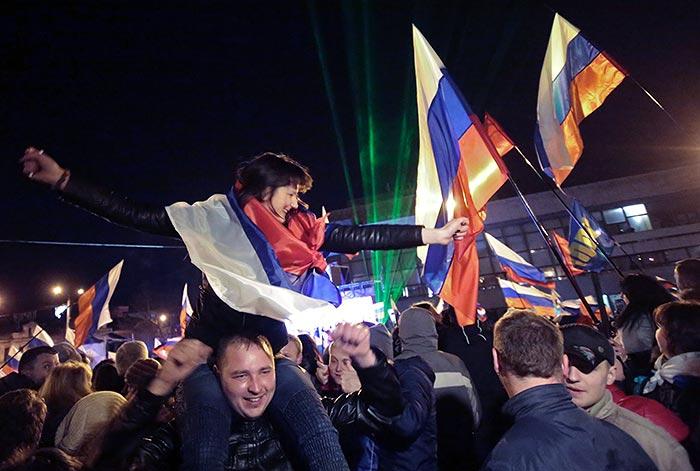 За присоединение Крыма к России проголосовало 96,77% крымчан