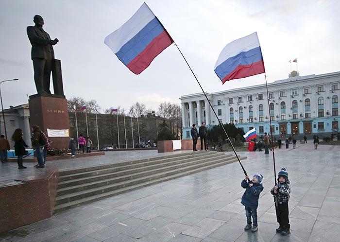 Путин одобрил проект договора о принятии Крыма в состав РФ