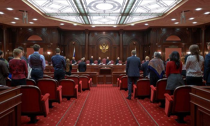 Конституционный суд признал законным договор о присоединении Крыма