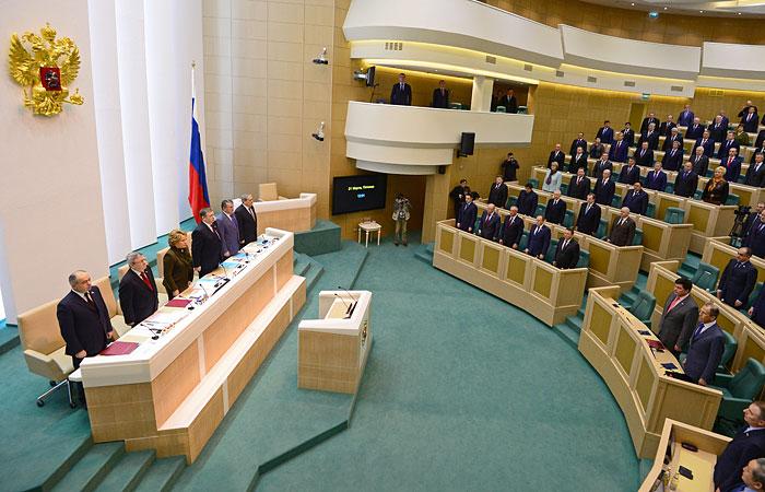 Совет Федерации ратифицировал договор о вхождении Крыма в состав РФ