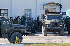 Задержано командование украинского батальона морской пехоты в Феодосии