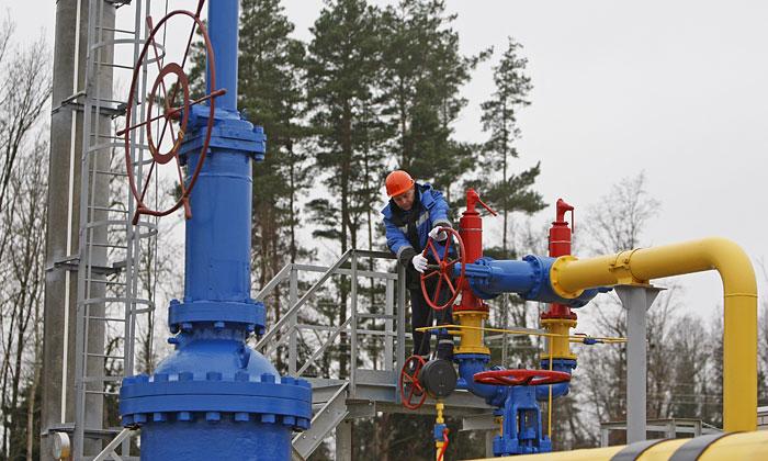 Цена на российский газ для Украины выросла на 44%