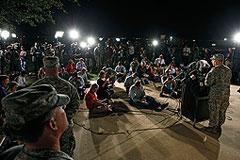 Военнослужащий открыл стрельбу на военной базе Форт-Худ в США