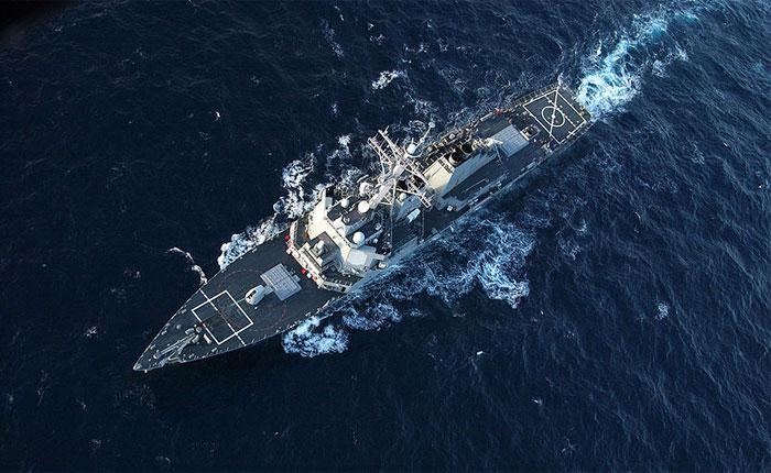 """Американский эсминец """"Дональд Кук"""" направляется в Черное море"""