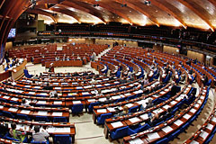 ПАСЕ лишила российскую делегацию права голоса до конца года