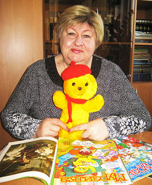 Главный редактор журнала «Мурзилка» Татьяна Андросенко.