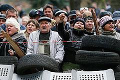 Донецкий город Славянск вышел из подчинения