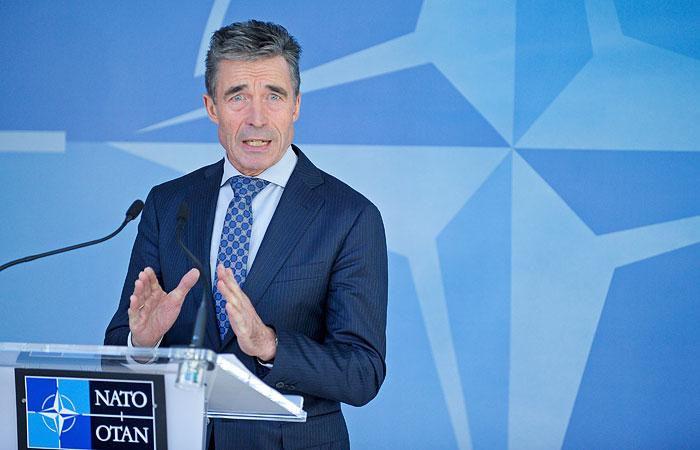 НАТО приняла военные меры в ответ на украинский конфликт