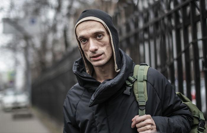 В акции художника Павленского на Красной площади не нашли состава преступления