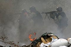 Ополченцы отбили атаку на ключевой блокпост у Славянска