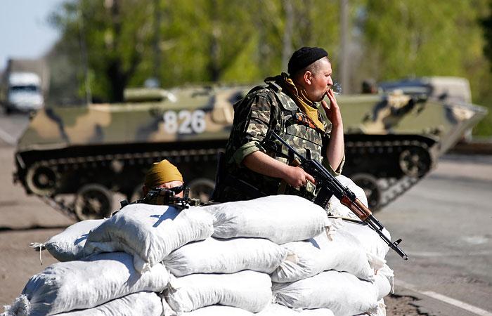 Силовая операция в Славянске приостановлена.